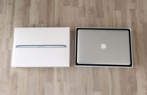 Macbook 15 Zoll mit Retina-Display